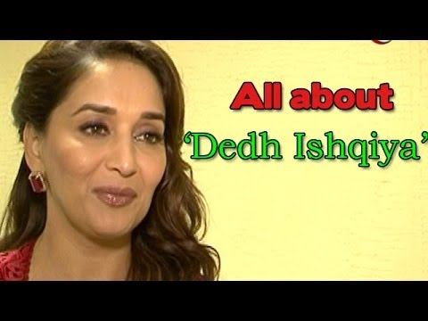 Dedh Ishqiya : Madhuri Dixit On A Promotional Spree For The Movie video