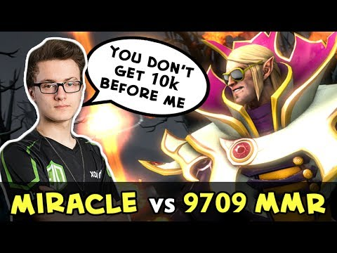 Miracle Invoker vs Top-1 MMR Paparazi — you don't get 10k before me