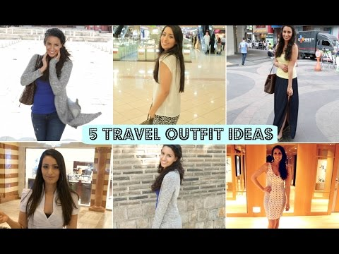 5 TRAVEL OUTFIT IDEAS!
