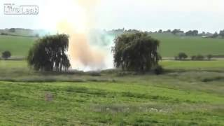 Blowing up a car with 42 lbs of tannerite