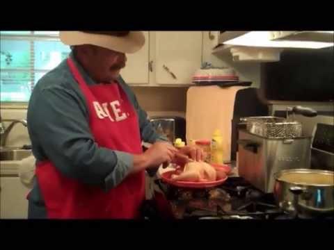 Deep Fried Cornish Game Hen ...Cajun Style! - YouTube