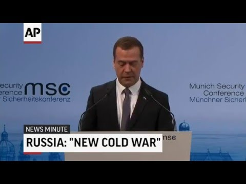 Russia's PM Accuses NATO Of Starting A New Cold War