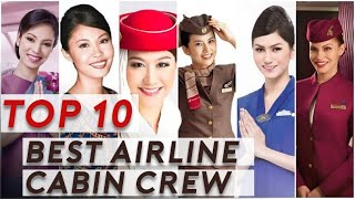 World's Top 10 Best Airline Cabin Crew
