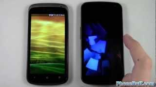 HTC One S vs Samsung Galaxy Nexus Speed Comparison