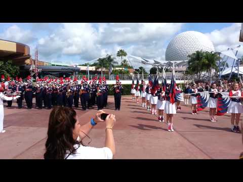 2014 Shaler Area High School Marching Band - Epcot Parade