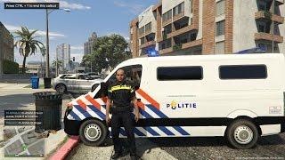 Op pad met de Nederlandse Politie [GTA 5] - KillaJ (LSPDFR 0.3)