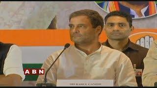 Rahul Gandhi LIVE -  Press Meet - Telangana Elections Results 2018 - ABN  LIVE - netivaarthalu.com