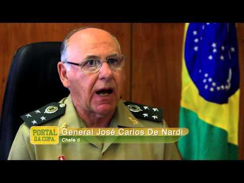 500 dias para a Copa - entrevista com o chefe do Estado-Maior Conjunto das Forças Armadas
