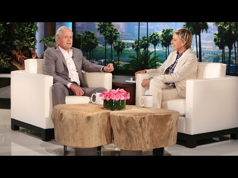 Michael Douglas on His Career and His Wife
