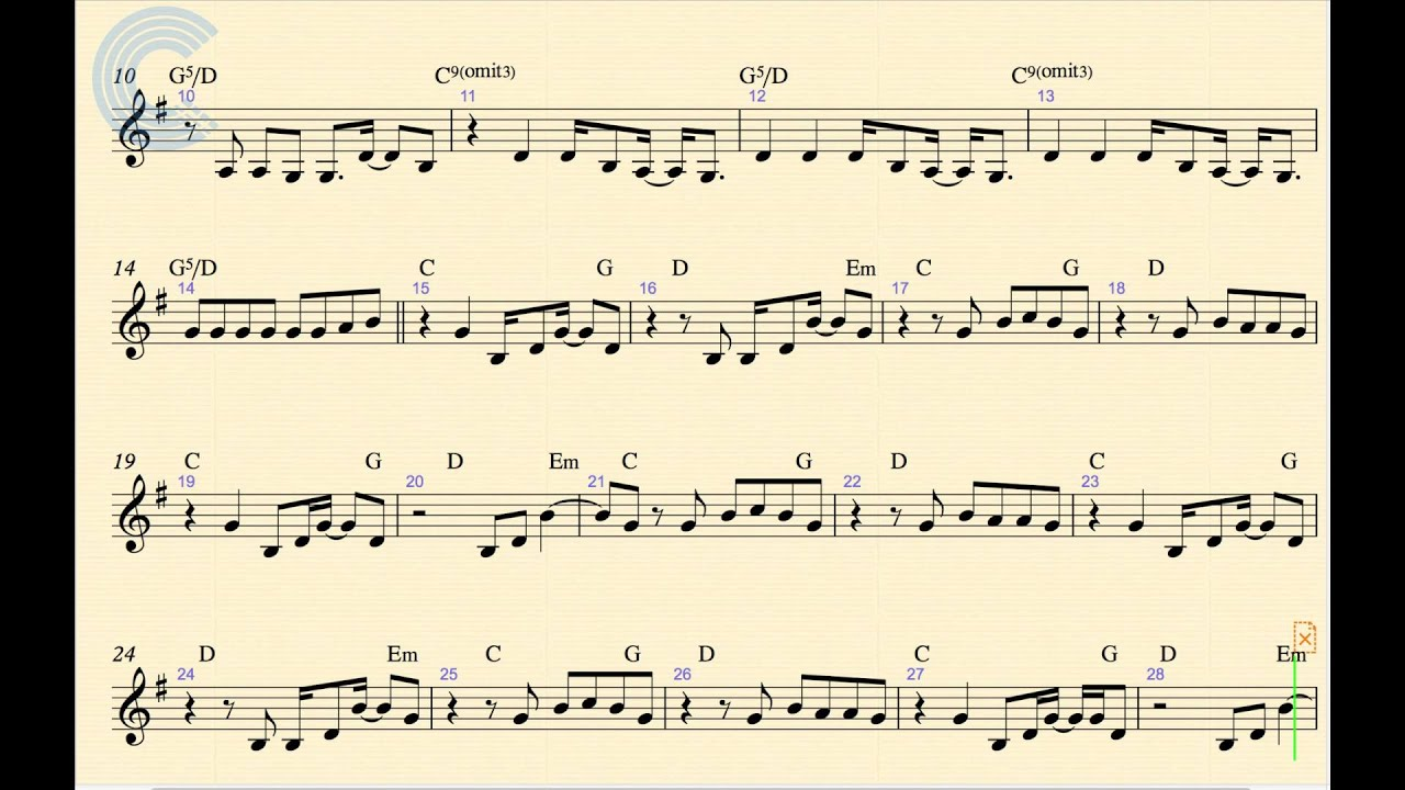 Violin - Call Me Maybe - Carly Rae Jepsen - Sheet Music, Chords, and Vocals - YouTube