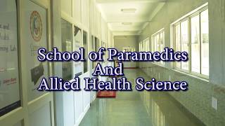 School Of Paramedics and Allied Health Science