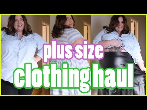PLUS SIZE CLOTHING HAUL ft. Eshakti and Fashion To Figure