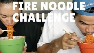Fire Noodle Challenge with dodong Joem Bascon