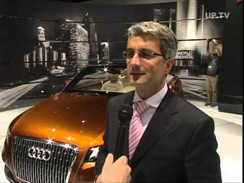 LA Auto Show 2007 Interview Rupert Stadler, Audi