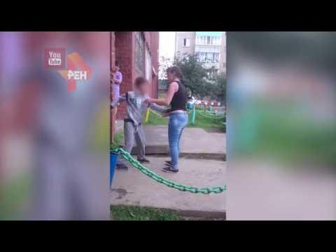 Конфликт между взрослыми и ребенком в Ревде