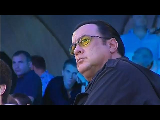 Actor Steven Seagal accused of harassment by Portia de Rossi
