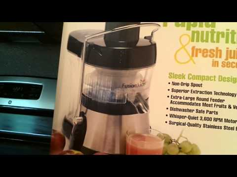 JUICING FOR BETTER HEALTH Using Fusion Juicer Recipe #1 | How To Make ...