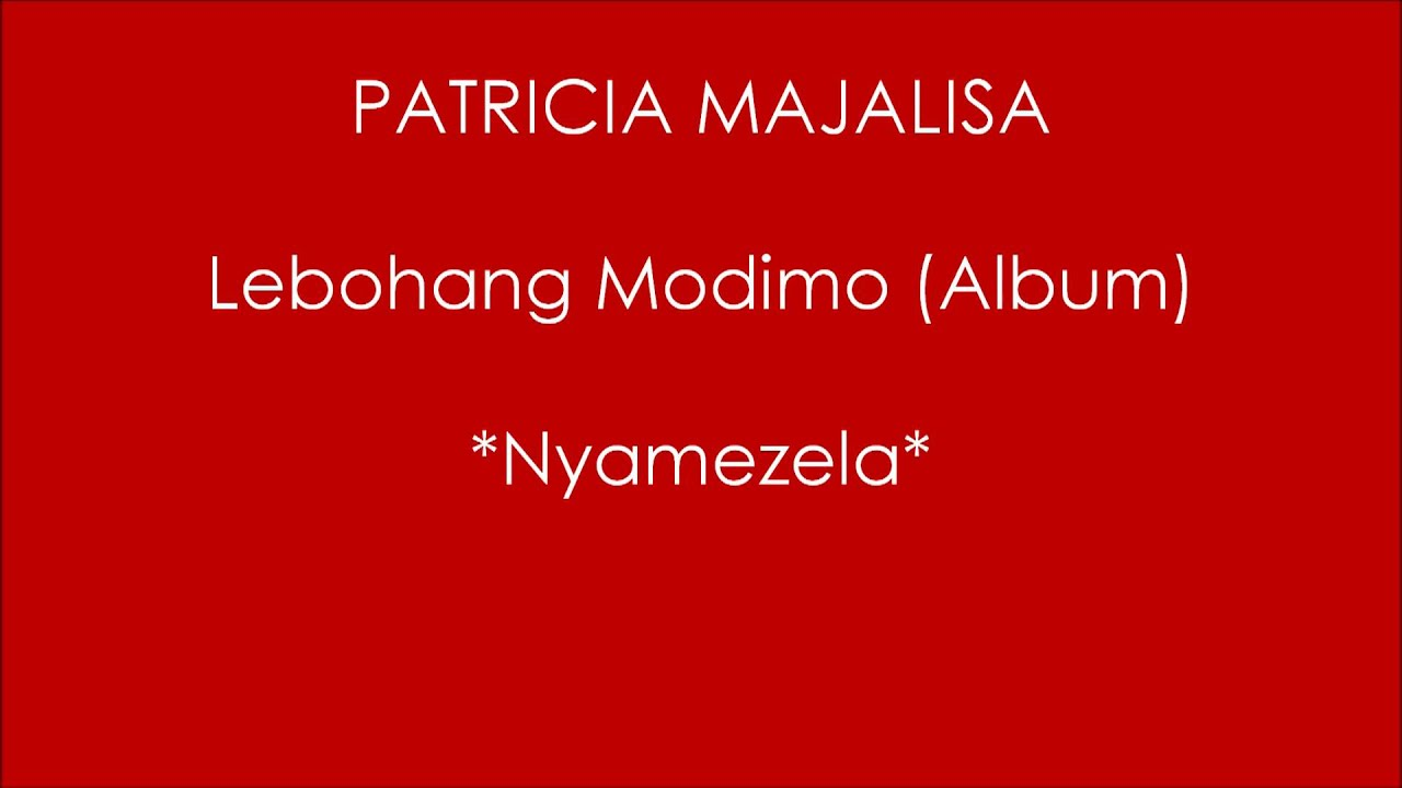 Patricia Majalisa Witchdoctor