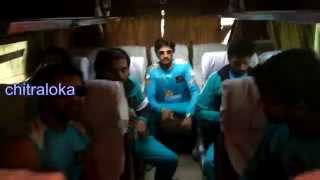 Sudeep Rockstar Cricket Bus