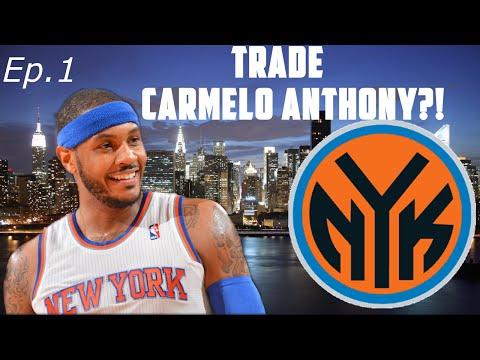 NBA 2K15 My GM Mode Ep.1 - New York Knicks - Carmelo Anthony Trade?! | Xbox One