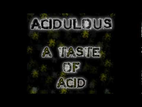 acidulous definition what is