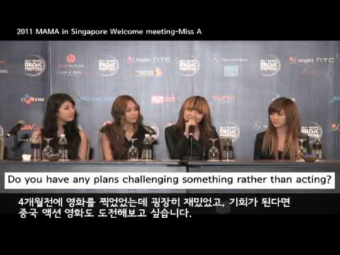 2011 MAMA welcome meeting