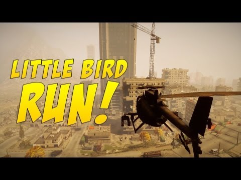 Battlefield 3 - Little Bird Run