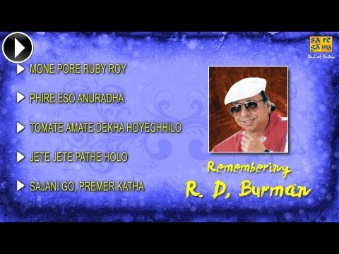 Hit Songs of R D Burman | Bengali Song Jukebox | Rahul Dev Burman...