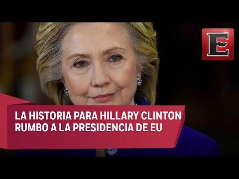 Comienza la historia para Hillary Clinton rumbo a la presidencia de EU