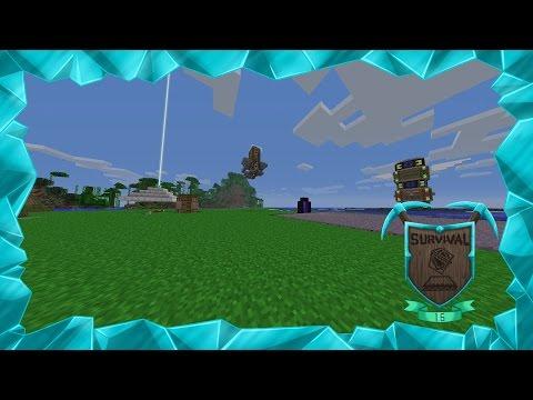Survival 1.6 Ep84. Crafteando una granja de hierro!