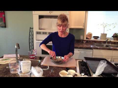 Vegan Gluten-Free Seedy Crackers, Diana Marchand, raw food chef