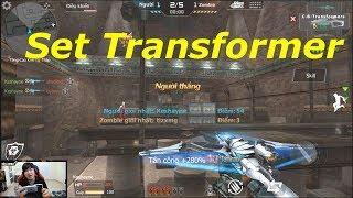 [ Bình Luận CF Legends ] Set súng Transformer - Chất như nước cất - Tiền Zombie v4