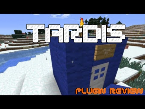 Minecraft PLUGINS - TARDIS [1.5.2]
