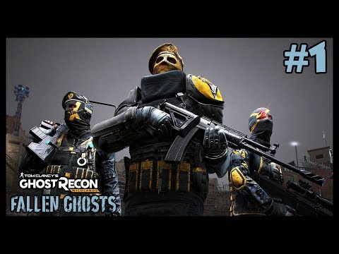 TOMAS ORTEGA (Ghost Recon Wildlands : Fallen Ghost #1) [FR]