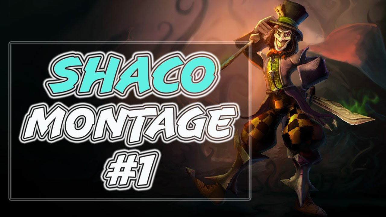 Shaco Montage #1 | Epic Shaco Plays | League of Legends