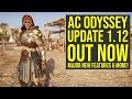 Assassin S Creed Odyssey Update 1 12 ALL INFO Adds Major New Features Way More AC Odyssey 1 12 mp3