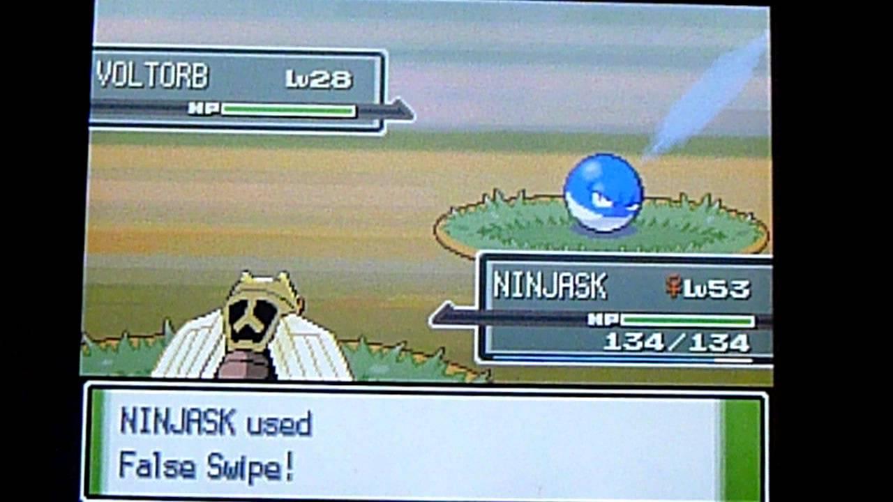 Pokemon platinum pokeradar shiny voltorb shiny patch - Pokemon platine evolution ...