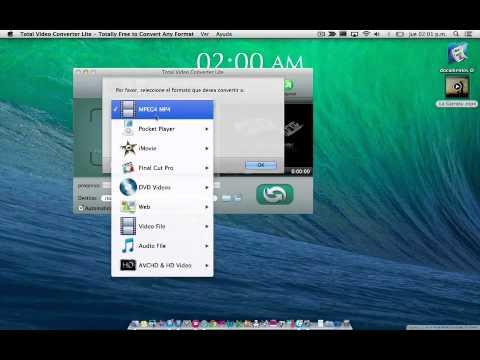 Descargar convertidor de videos a todos los formatos mac gratis