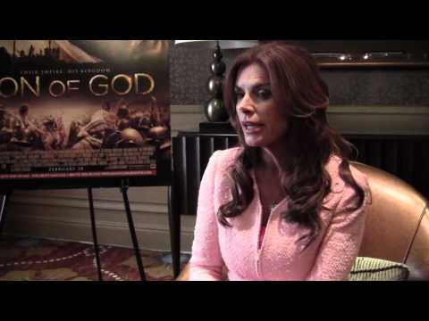 Interview with Roma Downey on SON OF GOD
