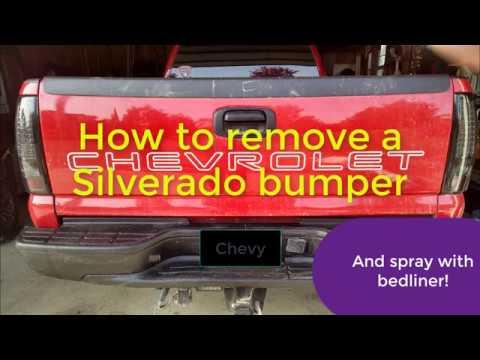 How to Remove a Silverado Rear Bumper