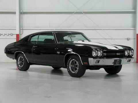 1970 Chevelle SS 396 4-Speed--Chicago Cars Direct
