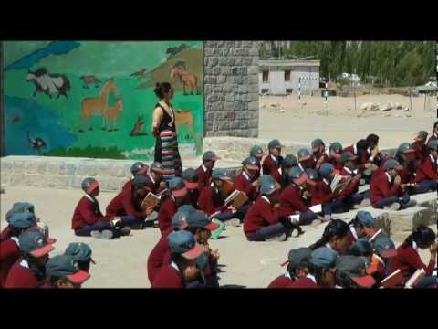 Druk White Lotus School DWLS Dragon Garden in Shey, Ladakh