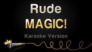 download lagu Magic - Rude Karaoke Version gratis