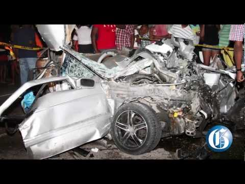 THE GLEANER MINUTE: Family killed in crash... Bunting robbed... Ja's IMF wait... CARIFTA Glory