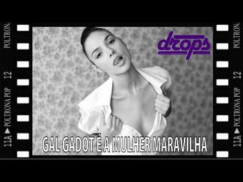 DROPS #55 – GAL GADOT É A NOVA MULHER MARAVILHA | Poltrona Pop