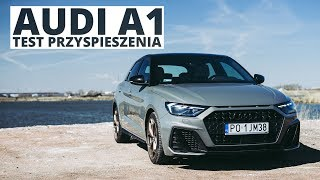 Audi A1 1.0 30 TFSI 116 KM (AT) - acceleration 0-100 km/h