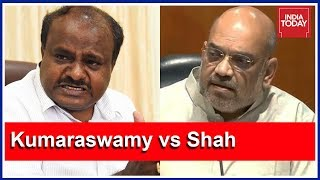 CM Kumaraswamy Slams BJP President Amit Shah Over 'Unholy Alliance' Remark