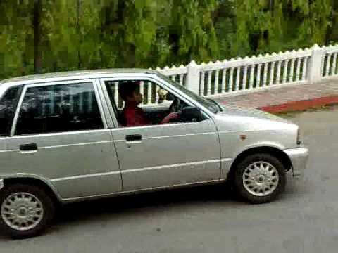 KP'S MARUTI 800 90DEGREE STUNT Video