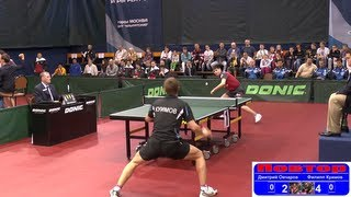 Dimitrij OVCHAROV vs Filipp KUIMOV 1/8 Russian Premier League Playoff Table Tennis