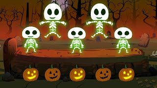Five little Skeleton | Happy Halloween